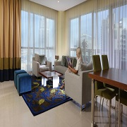 Ramada Downtown Dubai - 4 Bedroom Penthouse Apartments with Burj Khalifa & Dubai Fountain View