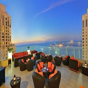 Ramada Plaza Jumeirah Beach Residence Hotel Dubai - 4 Bedroom Apartments - Dubai Plaza view
